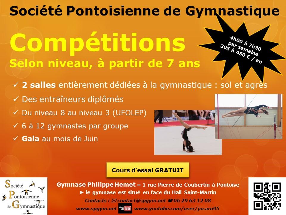 Affiche Compétitions 2016-2017 Forum